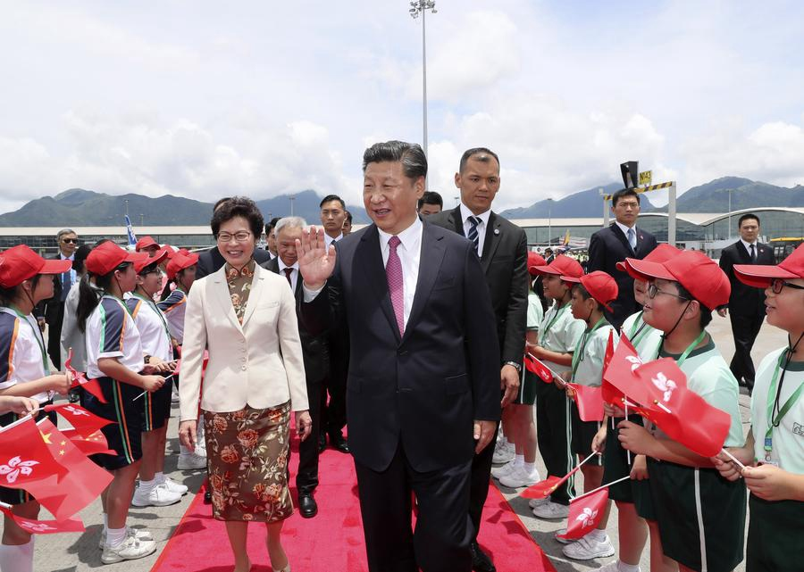 Xi Supports HKSAR to Contribut